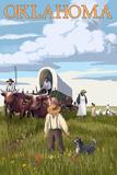 Oklahoma - Wagon Scene