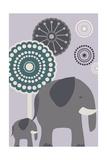 Simple Elephant - Purple