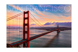 San Francisco  California - Golden Gate Aerial View