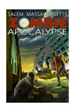 Salem  Massachusetts - Zombie Apocalypse
