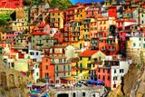 Manarola  Italy - Colorful Houses