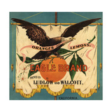 Eagle Brand - California - Citrus Crate Label