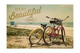 Corpus Christi  Texas - Life is a Beautiful Ride - Beach Cruisers