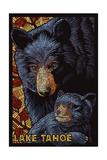 Lake Tahoe - Black Bears - Mosaic