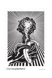 Atomic Banana - John Van Hamersveld Poster Artwork
