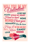 Be Mine - Valentines Day Typography