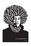 Jimi Hendrix Portrait - John Van Hamersveld Poster Artwork