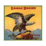 Eagle Brand - Highgrove  California - Citrus Crate Label