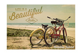 Catalina Island  California - Life is a Beautiful Ride - Beach Cruisers
