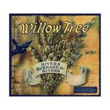 Willow Tree Brand - Los Angeles  California - Citrus Crate Label