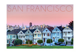 San Francisco  California - Pink Ladies