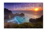 Big Sur  California - McWay Cove