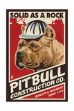 Pitbull - Retro Construction Company Ad