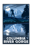 Columbia River Gorge - Bigfoot and Mountain