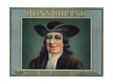 Penn Brand - Whittier  California - Citrus Crate Label