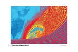 Pipline Wave - John Van Hamersveld Poster Artwork