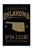Oklahoma State Pride - Gold on Black