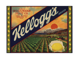 Kelloggs Brand - Casa Blanca  California - Citrus Crate Label