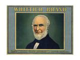 Whittier Brand - Whittier  California - Citrus Crate Label