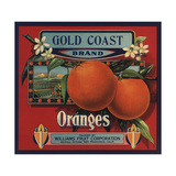 Gold Coast Brand - San Francisco  California - Citrus Crate Label