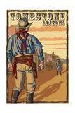 Tombstone  Arizona - Cowboy Standoff