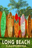 Long Beach  California - Surfboard Fence