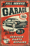 24/7 Full Service Garage - Vintage Sign