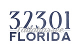 Tallahassee  Florida - 32301 Zip Code (Blue)