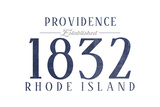 Providence  Rhode Island - Established Date (Blue)