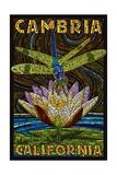 Cambiria  California - Dragonfly - Paper Mosaic