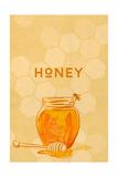 Honey Jar - Letterpress