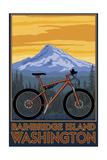 Bainbridge Island  Washington - Mountain Bike Scene