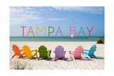 Tampa Bay  Florida - Colorful Beach Chairs