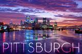 Pittsburgh  Pennsylvania - City Lights at Night
