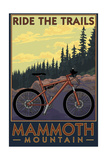 Mammoth Mountain  California - Mountain Bike Scene - Ride the Trails