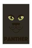 Zoo Faces - Panther