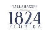 Tallahassee  Florida - Established Date (Blue)