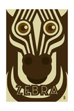 Zoo Faces - Zebra
