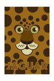 Zoo Faces - Jaguar