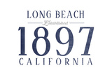 Long Beach  California - Established Date (Blue)