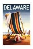 Delaware - Beach Chair and Ball