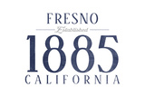 Fresno  California - Established Date (Blue)