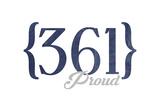 Corpus Christi  Texas - 361 Area Code (Blue)