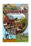 Bakersfield  California - Montage