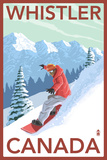 Whistler  Canada - Snowboarder