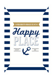 Delaware - Rehoboth Beach is My Happy Place - Stripes