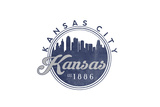 Kansas City  Kansas - Skyline Seal (Blue)