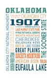 Oklahoma - Typography
