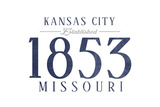 Kansas City  Missouri - Established Date (Blue)