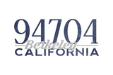 Berkeley  California - 94704 Zip Code (Blue)